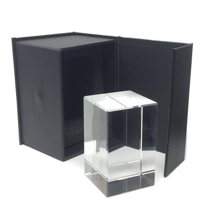 Presse-papier dans les dimensions en verre
