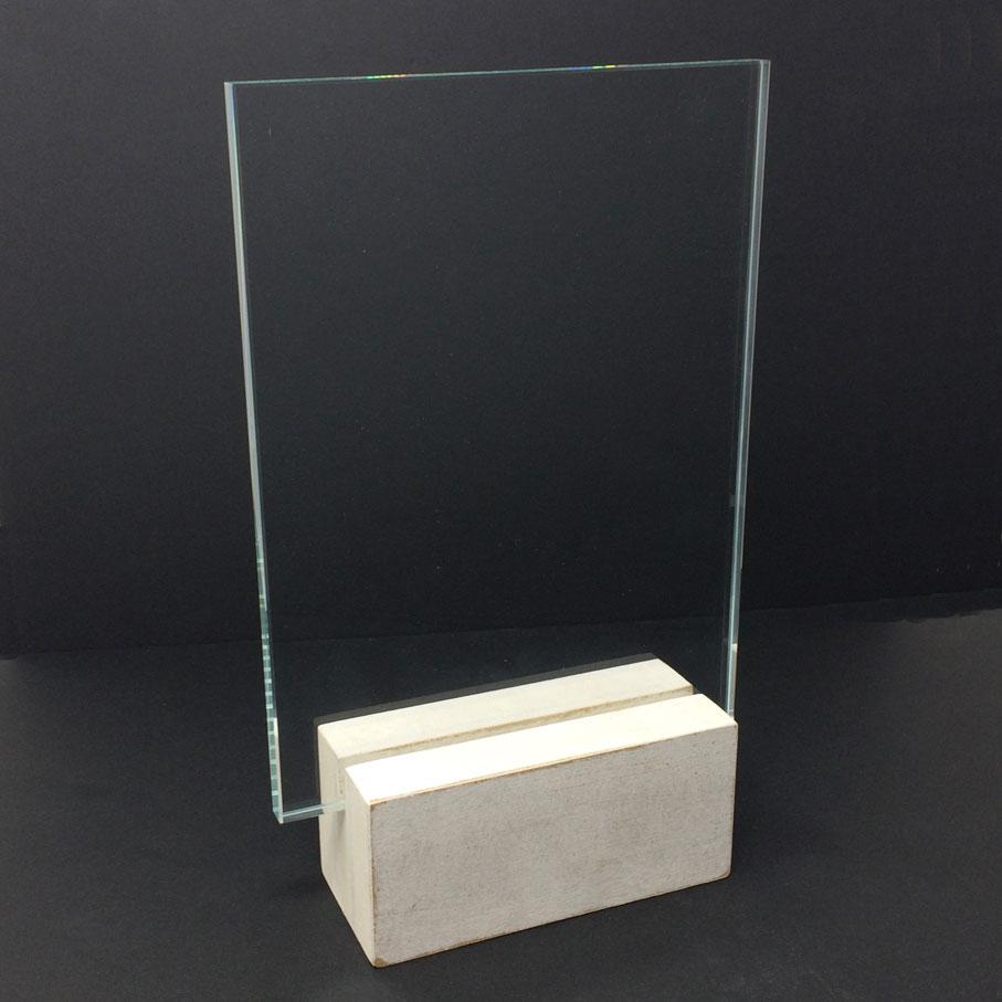 palque en verre personnalisé pour un événement de grande qualité